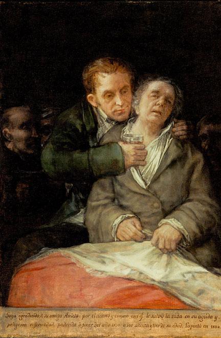 Goya_en_dokter_arrieta_1820