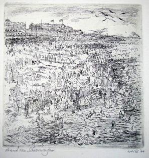 brulez_bertram weihs_het strand van scheveningen_1944